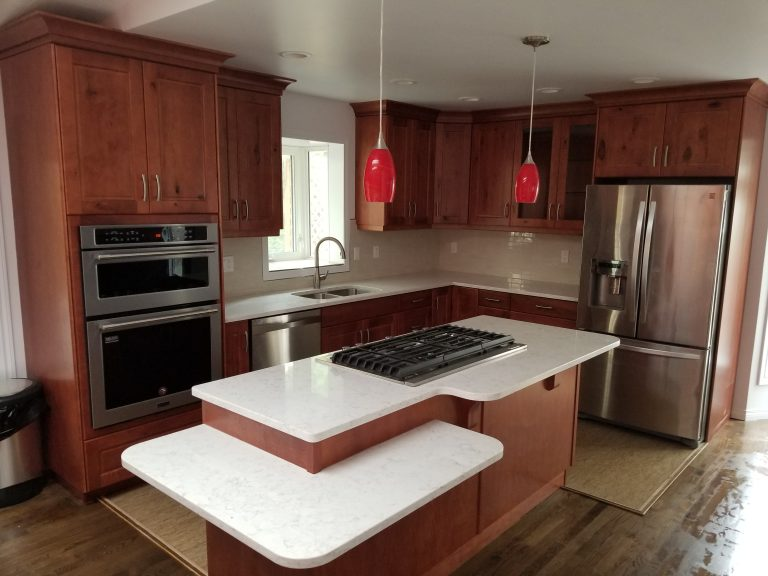 Kitchen renovations increase the value of your home.